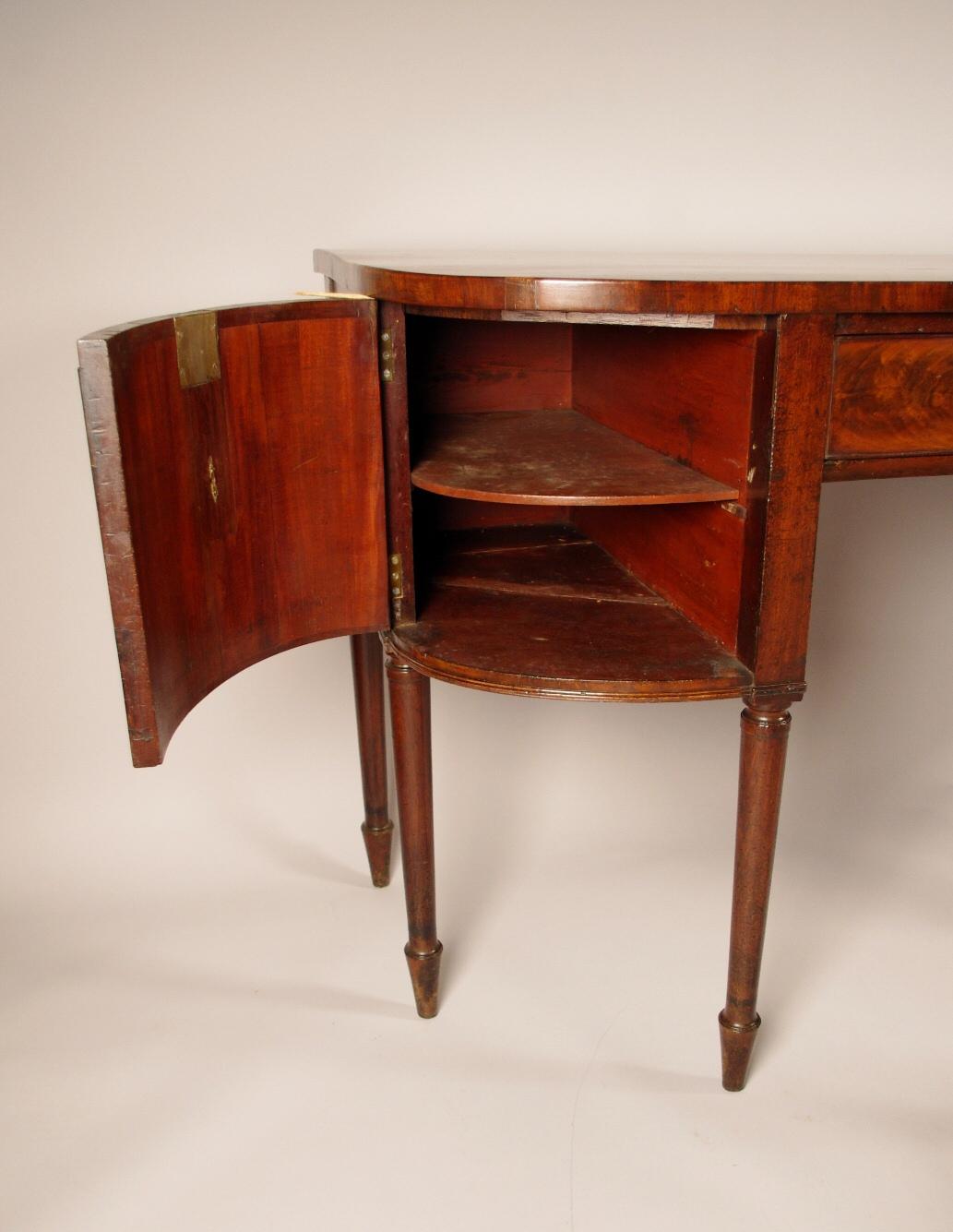 robert morrissey antiques george iii mahogany sideboard. Black Bedroom Furniture Sets. Home Design Ideas