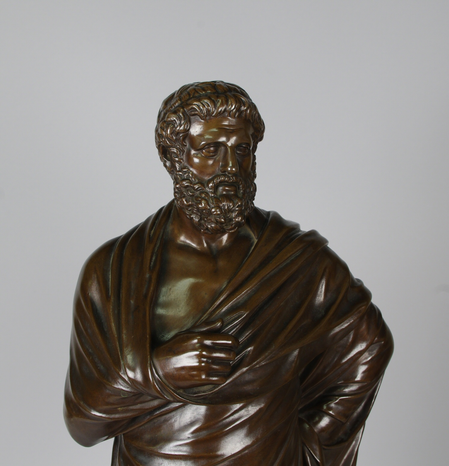 View 2: Bronze Figure of Sophocles