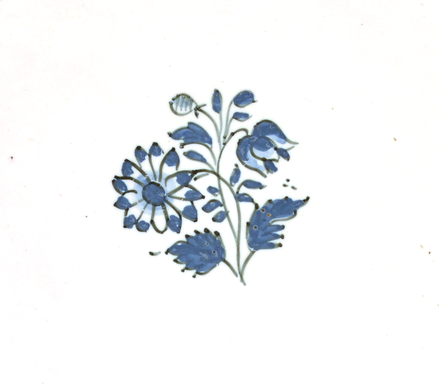View 2: Blue and White Faience Salver
