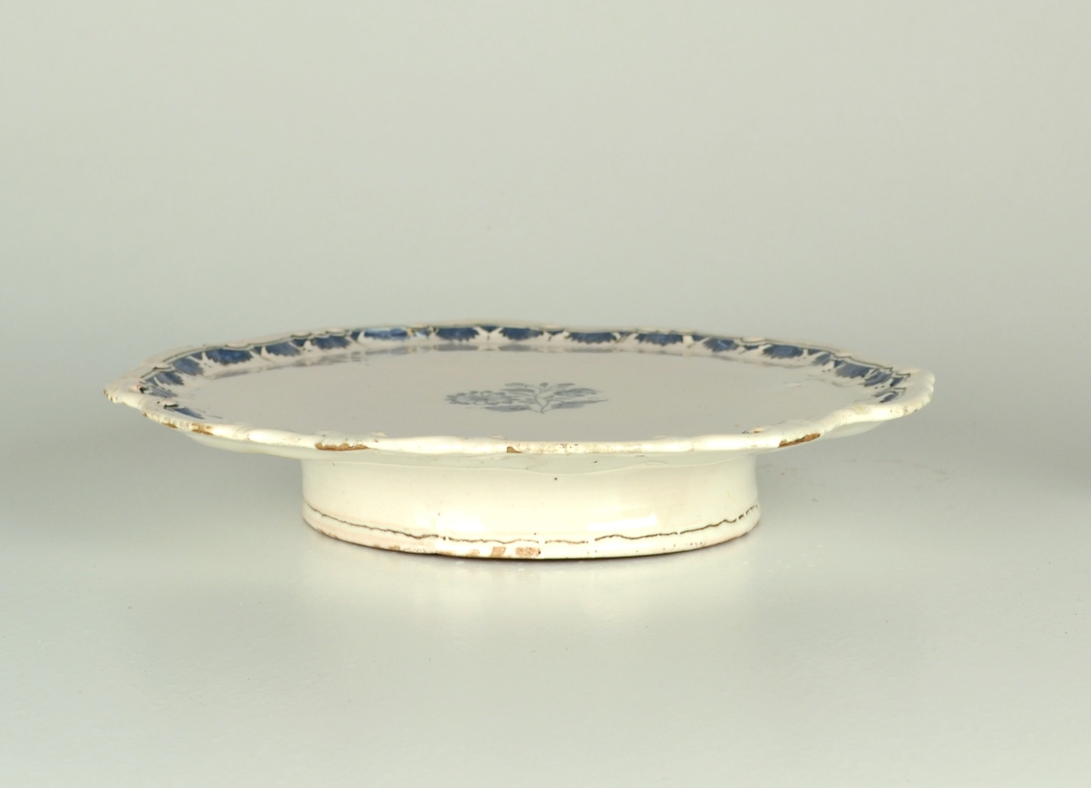 View 5: Blue and White Faience Salver