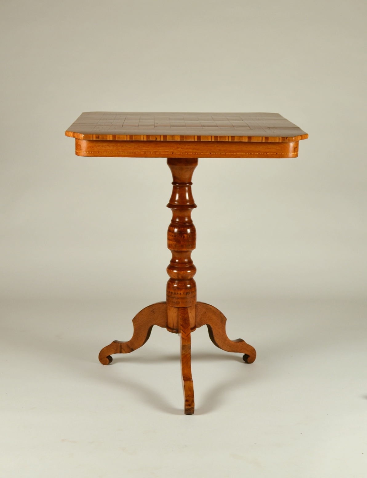 View 2: Biedermeier Game Table
