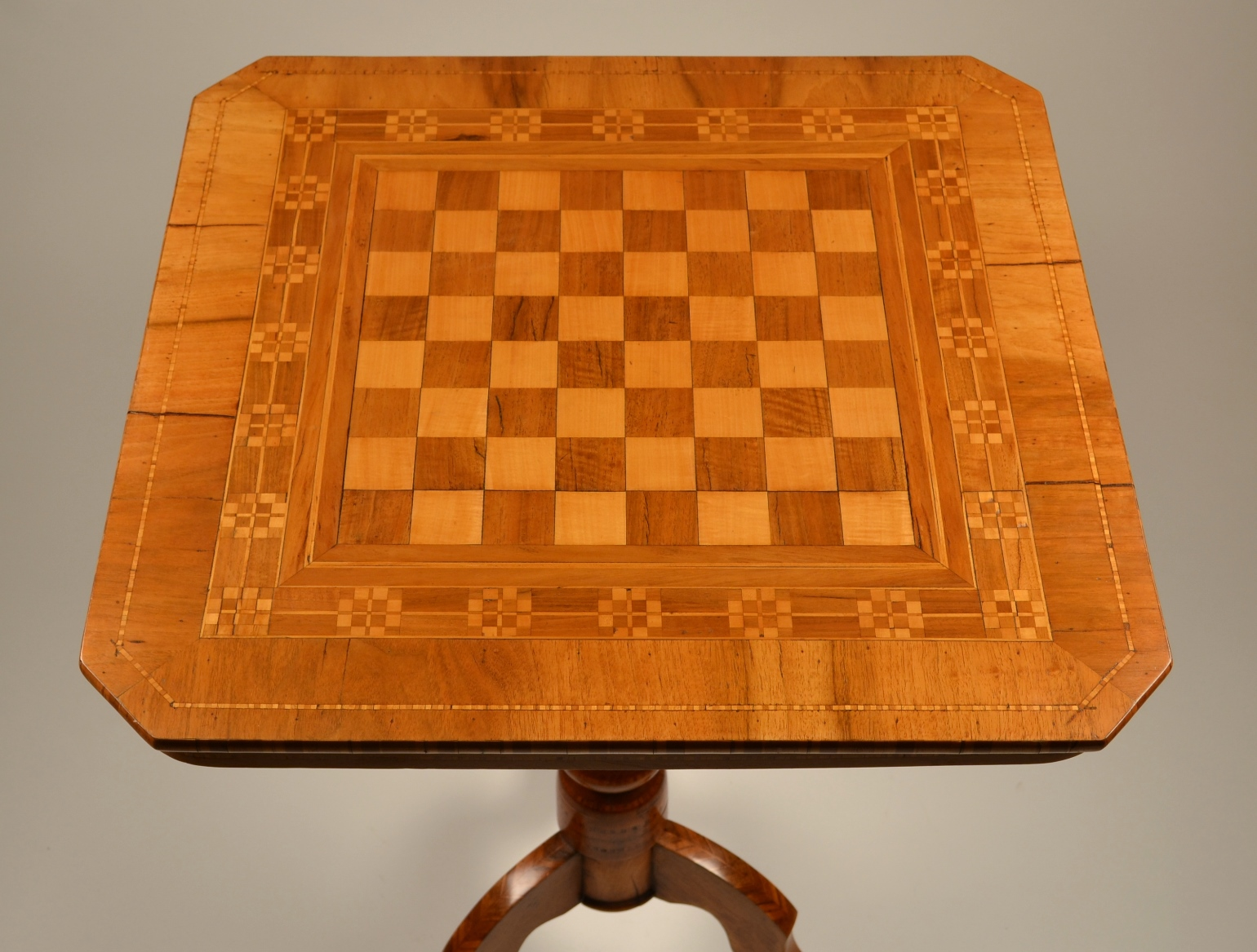 View 3: Biedermeier Game Table