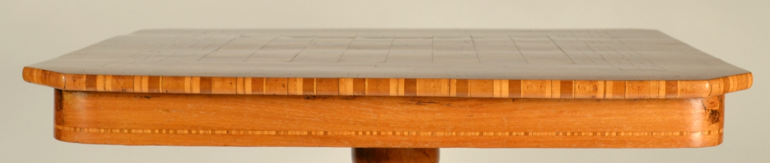 View 4: Biedermeier Game Table