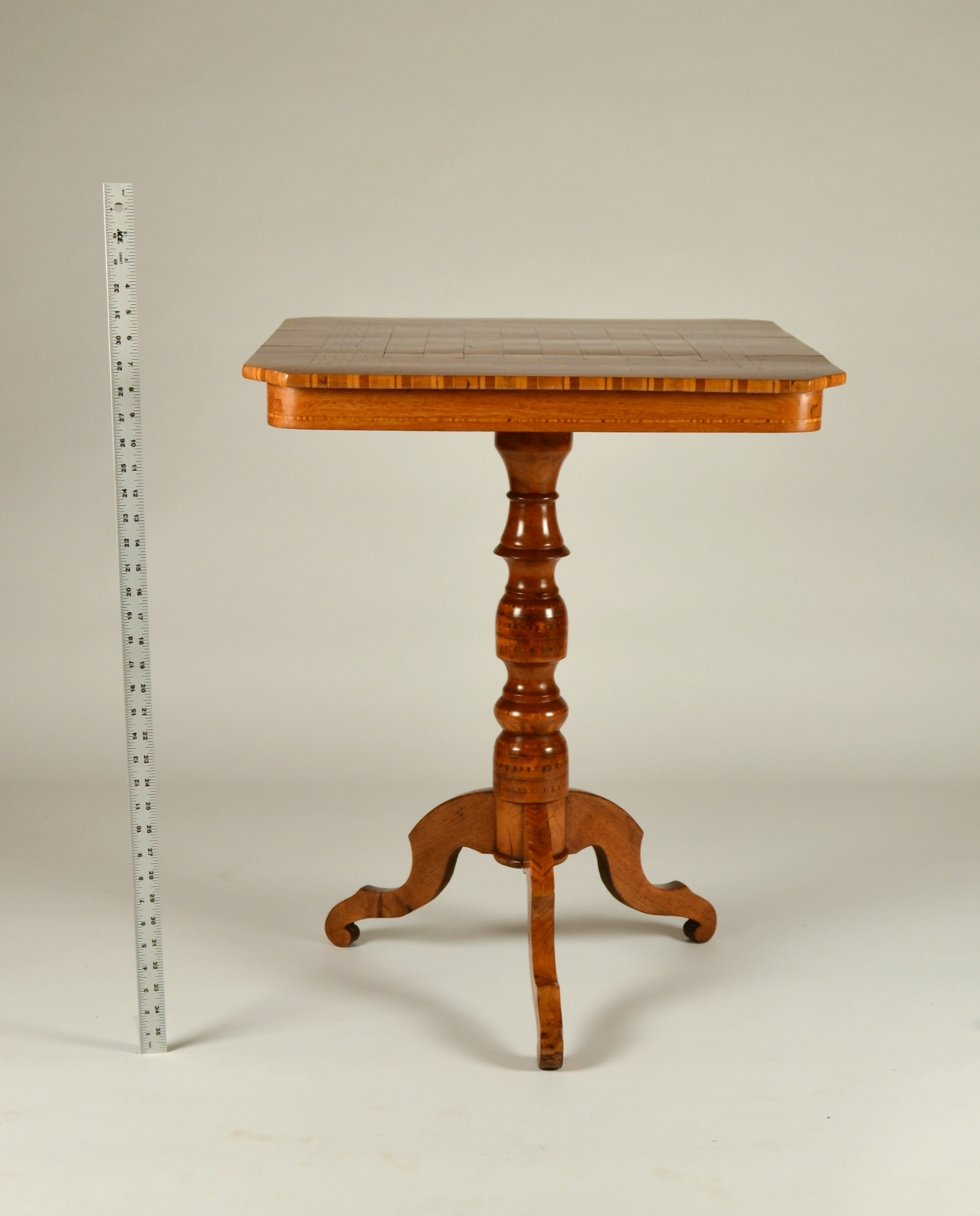 View 7: Biedermeier Game Table