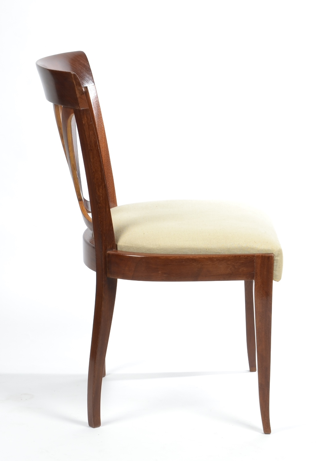 View 5: Set of Six Art Deco Dining Chairs