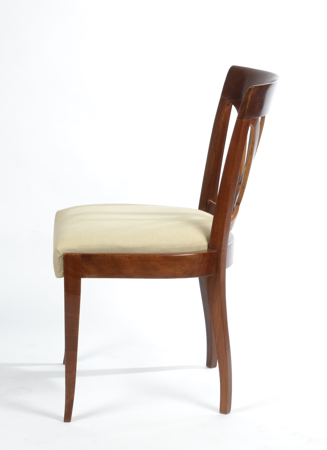 View 6: Set of Six Art Deco Dining Chairs