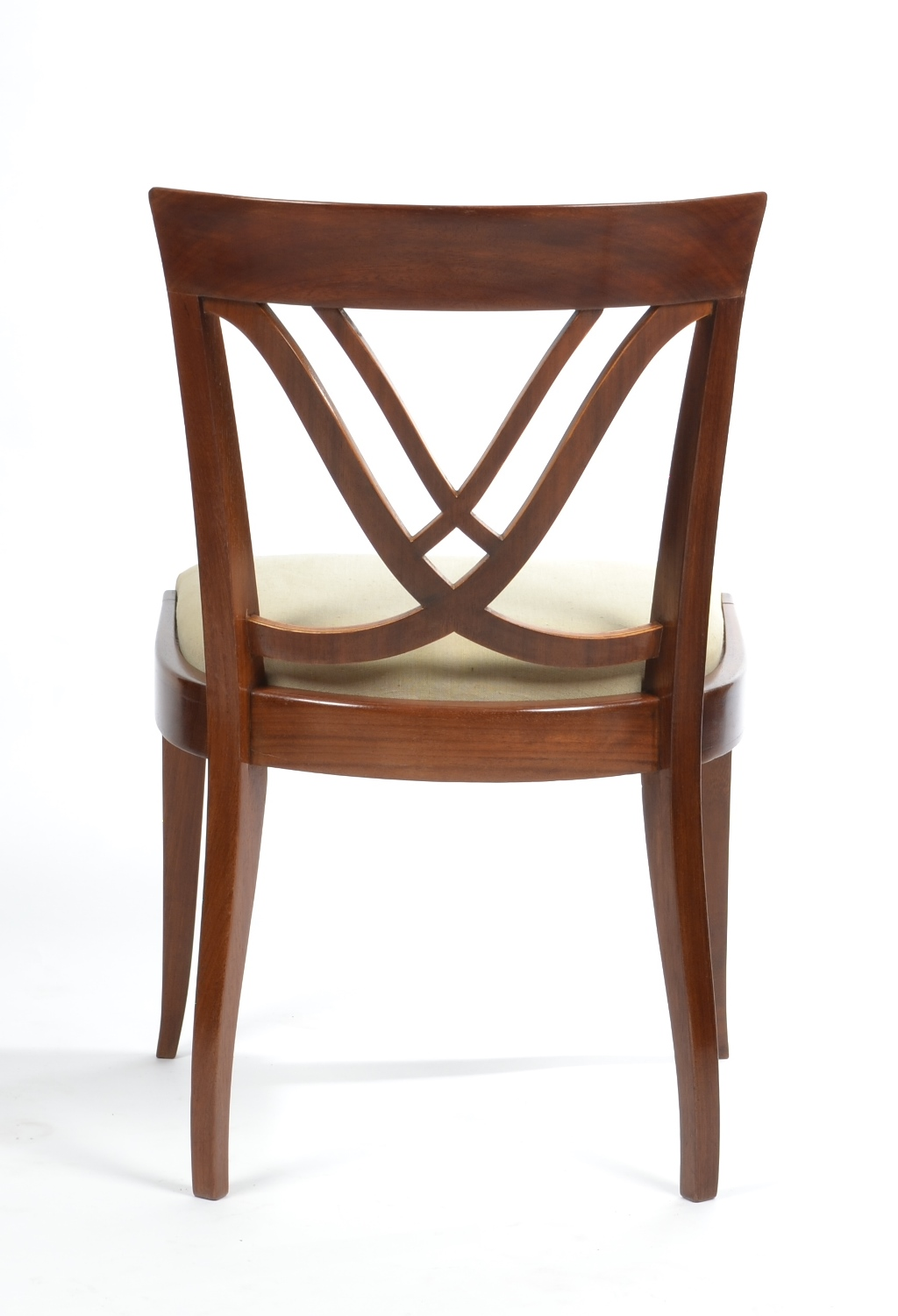 View 7: Set of Six Art Deco Dining Chairs