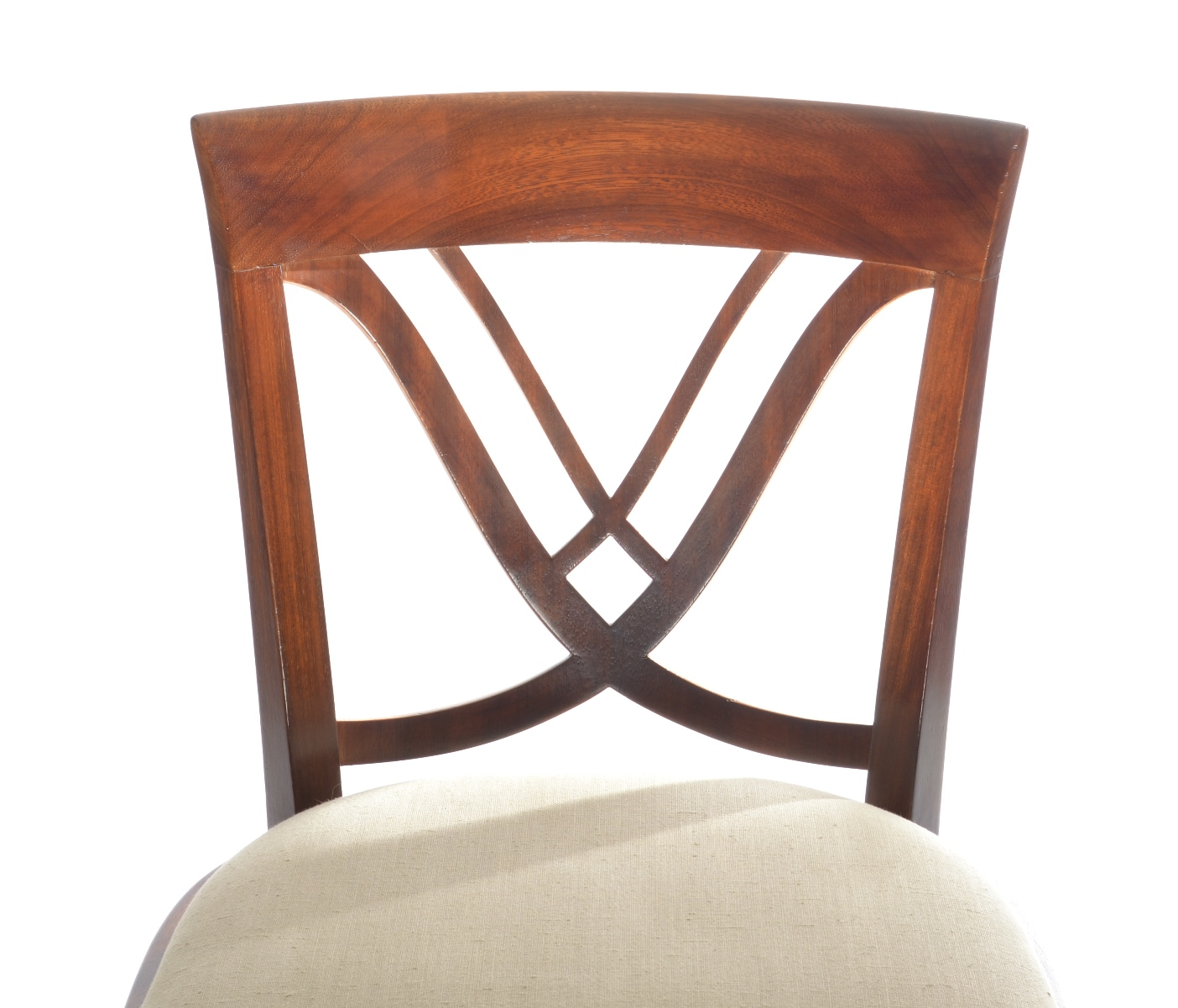 View 9: Set of Six Art Deco Dining Chairs