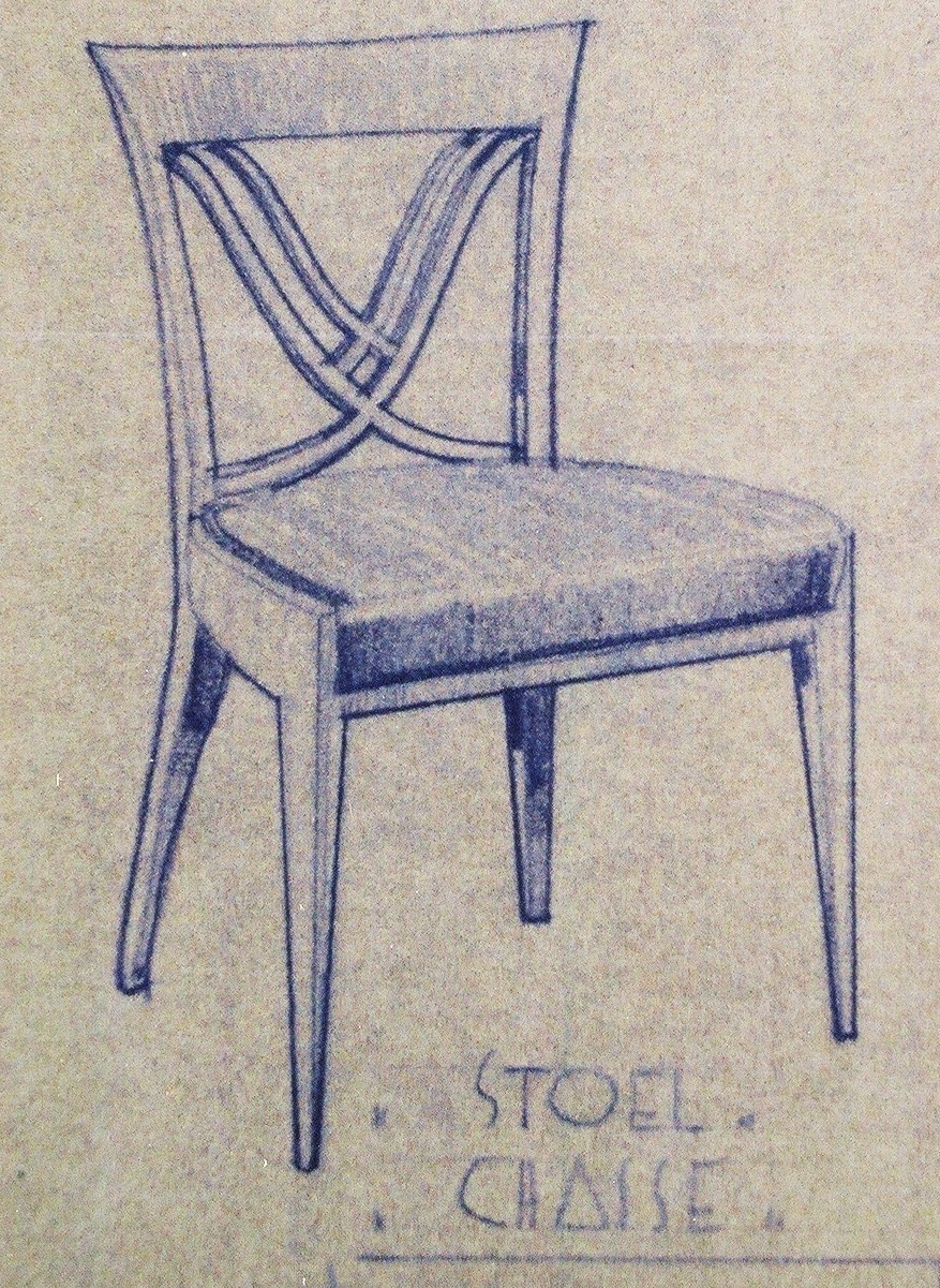 View 11: Set of Six Art Deco Dining Chairs