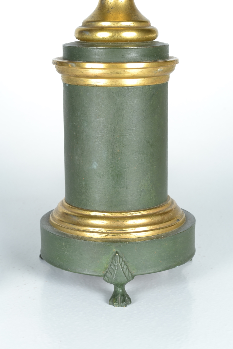 View 4: Green Tole Lamp