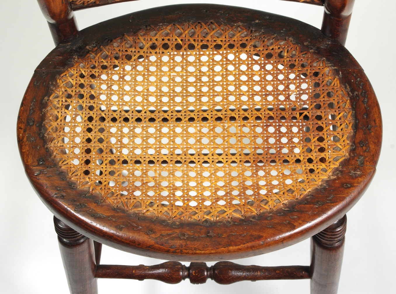 View 7: Regency Child's Correction Chair, c. 1830