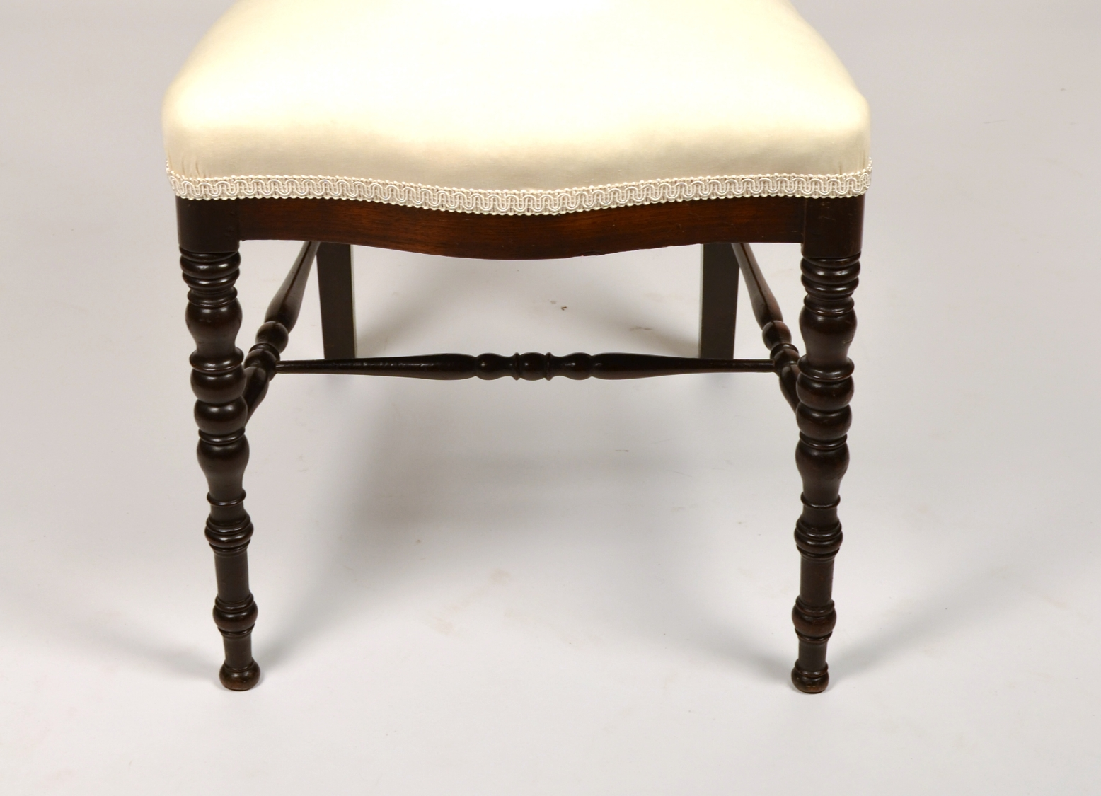 View 7: Fine Pair of Victorian Rosewood Side Chairs