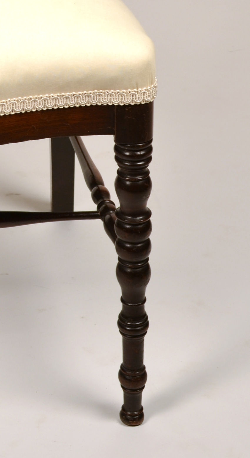 View 8: Fine Pair of Victorian Rosewood Side Chairs