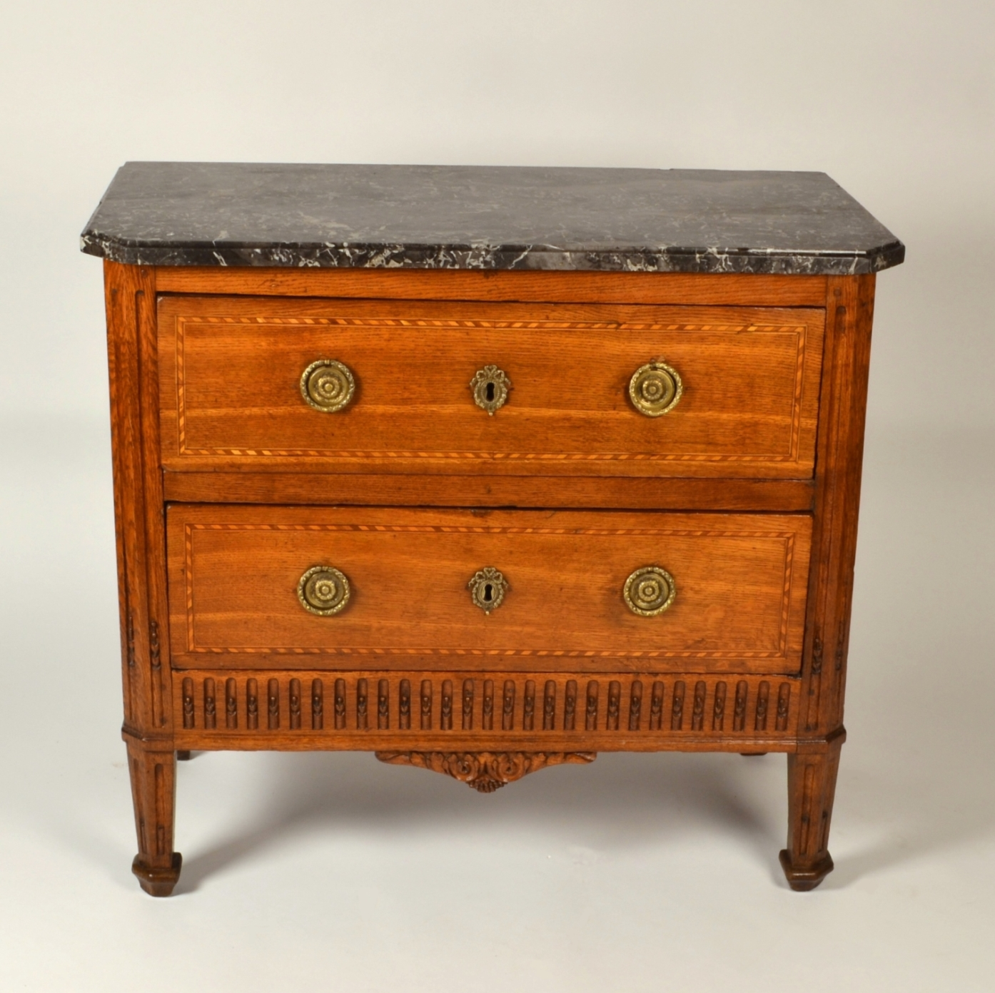 View 3: Louis XVI Oak Chest of Drawers