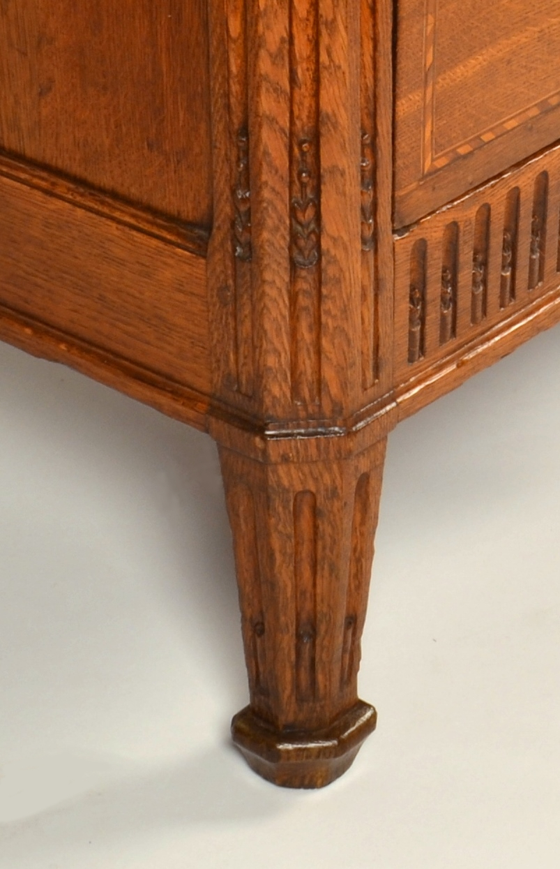 View 8: Louis XVI Oak Chest of Drawers