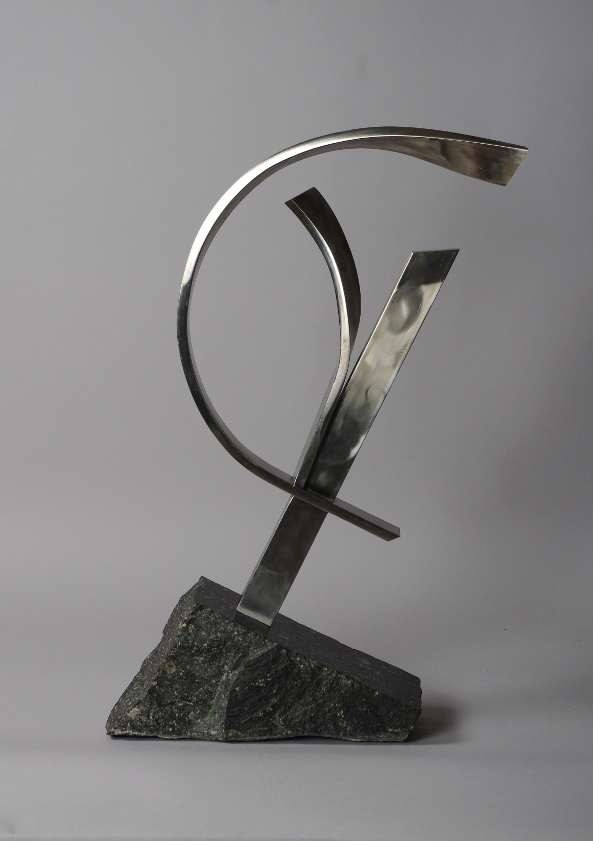 View 2: Abstract Sculpture Attributed to Brother Mel Meyer (1923- 2013)