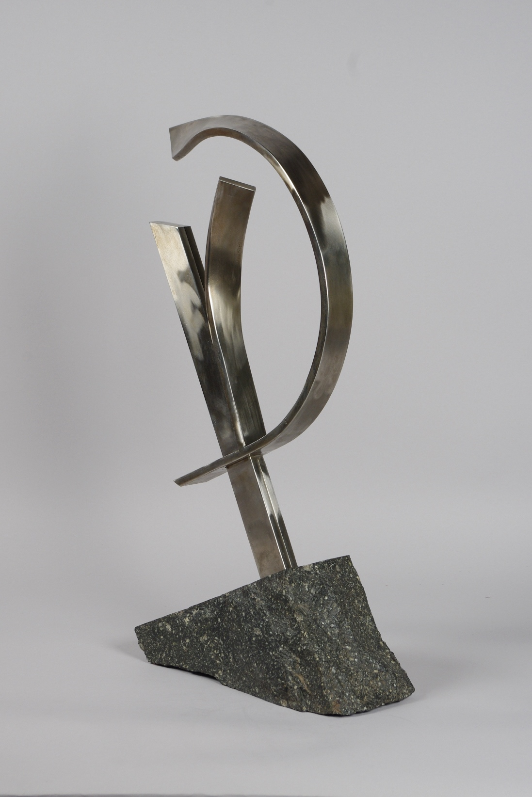 View 3: Abstract Sculpture Attributed to Brother Mel Meyer (1923- 2013)