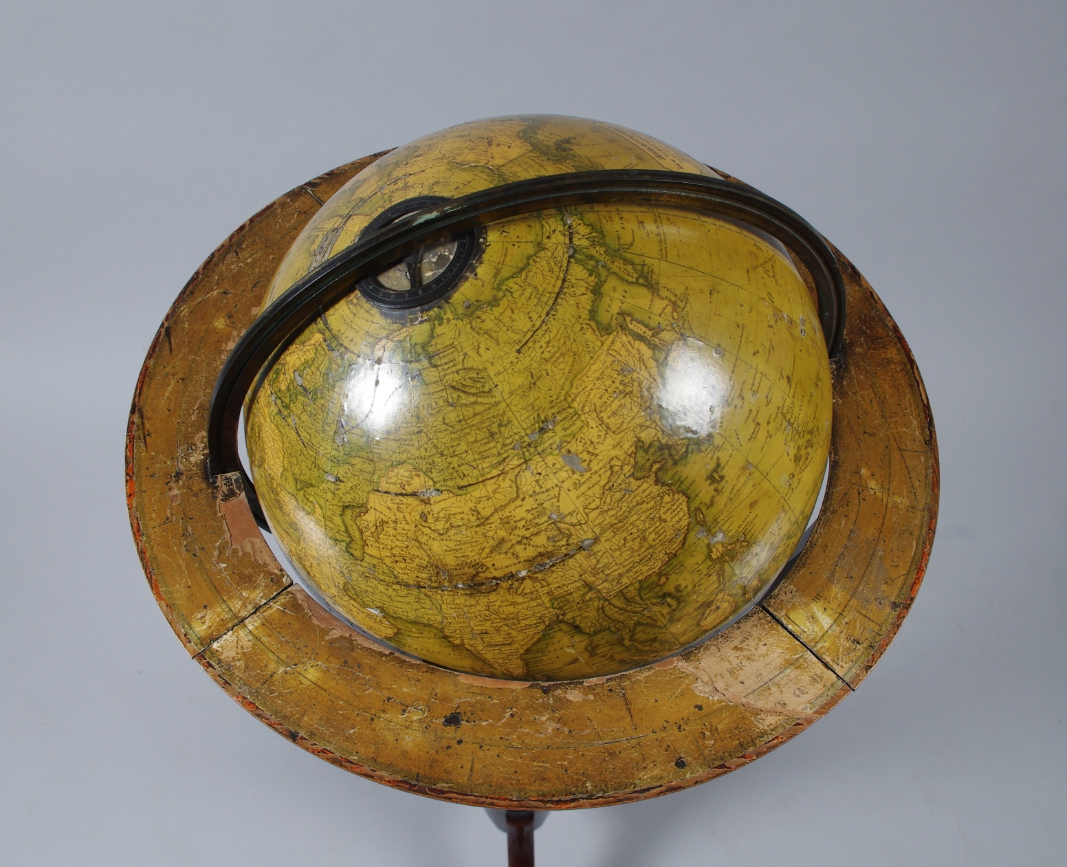 "View 4: 12"" Terrestrial Globe by Kirkwood of Edinburgh"
