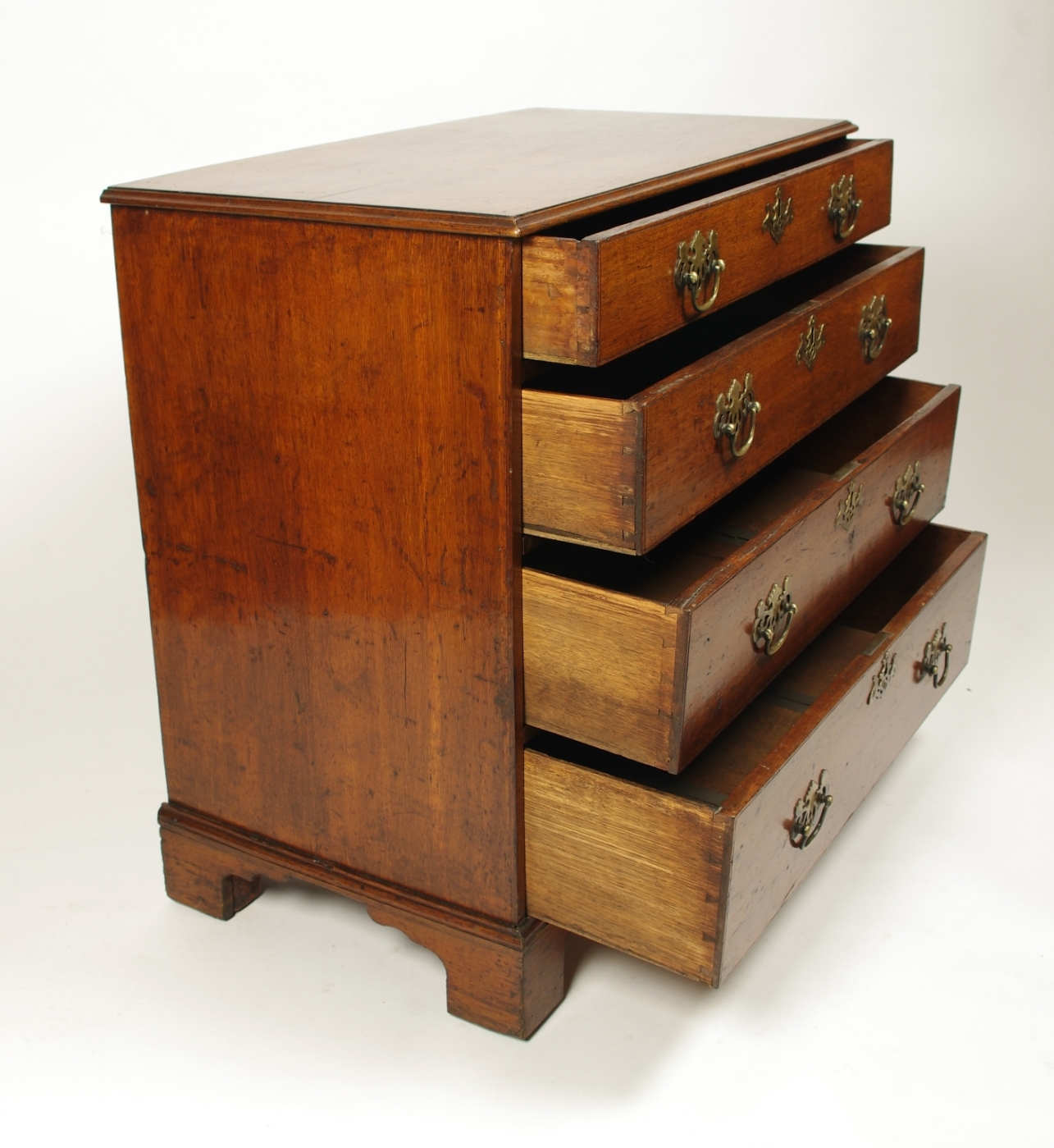 View 5: George II Oak Chest of Drawers