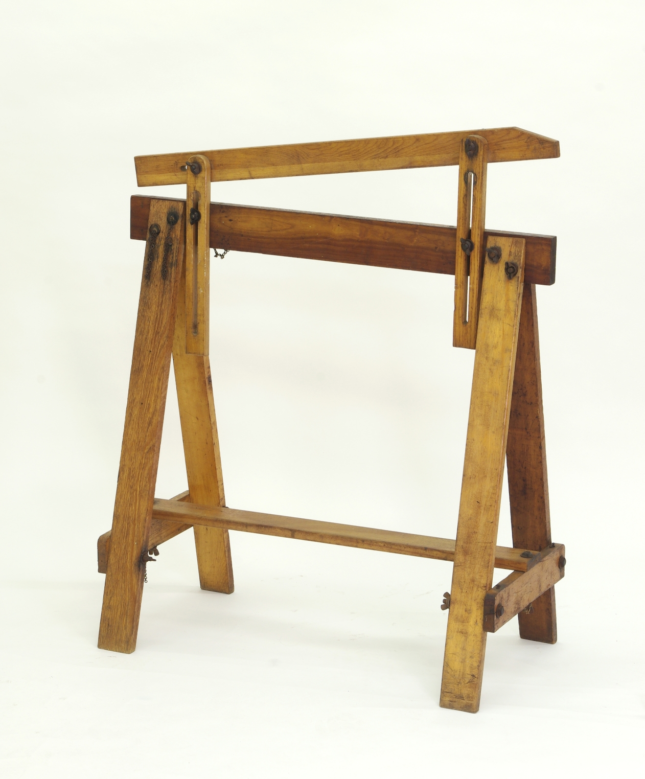 View 5: Pair of Adjustable Sawhorses c. 1920