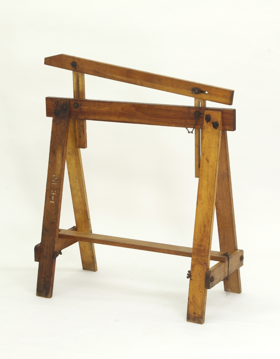 View 6: Pair of Adjustable Sawhorses c. 1920