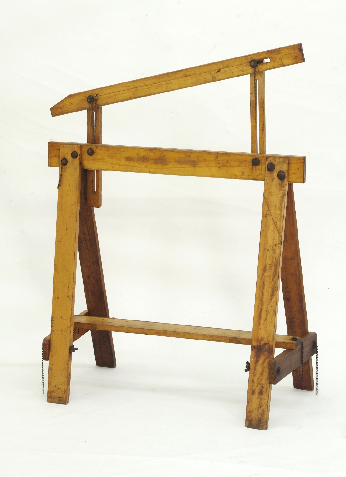 View 7: Pair of Adjustable Sawhorses c. 1920