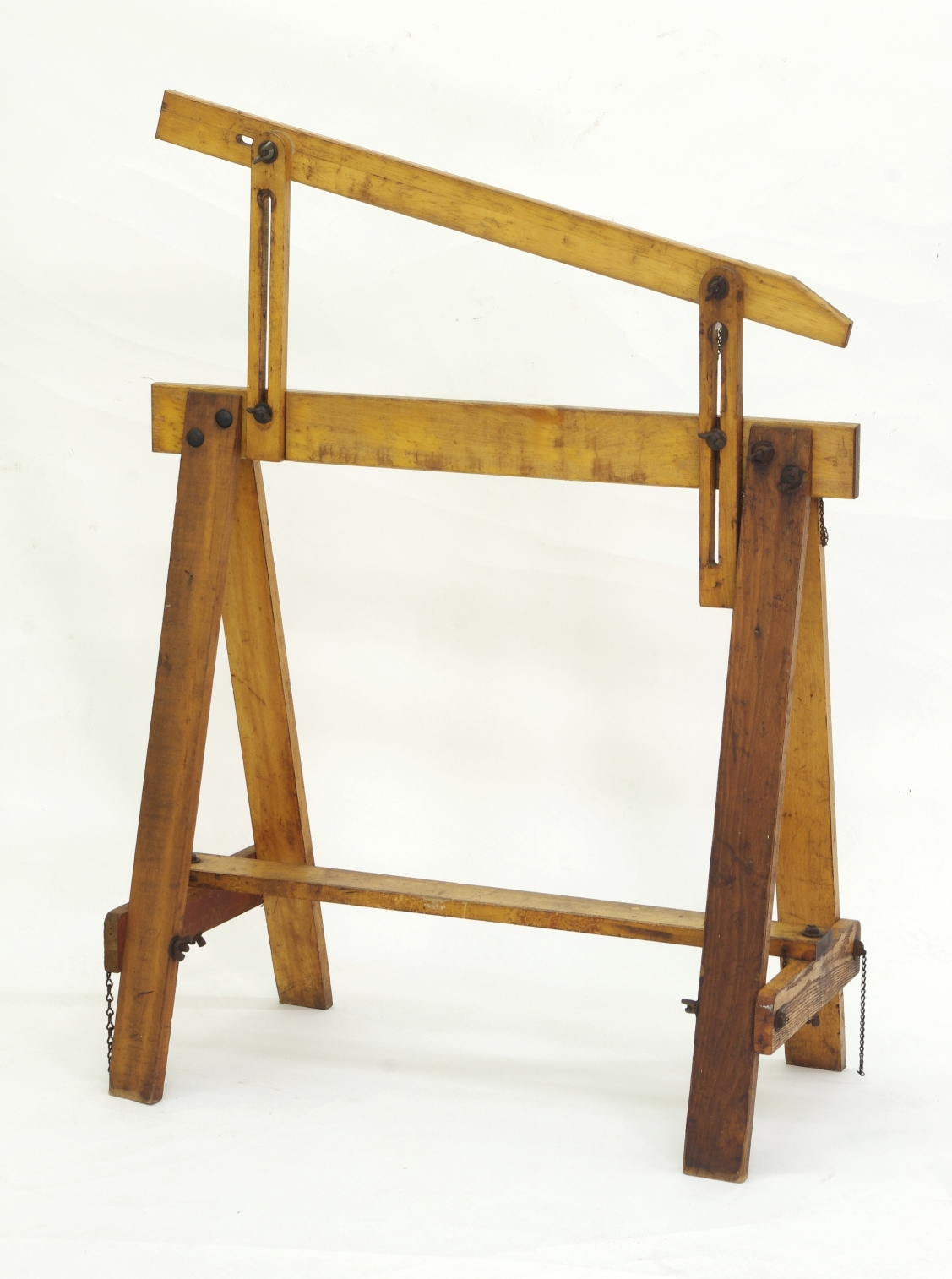 View 8: Pair of Adjustable Sawhorses c. 1920