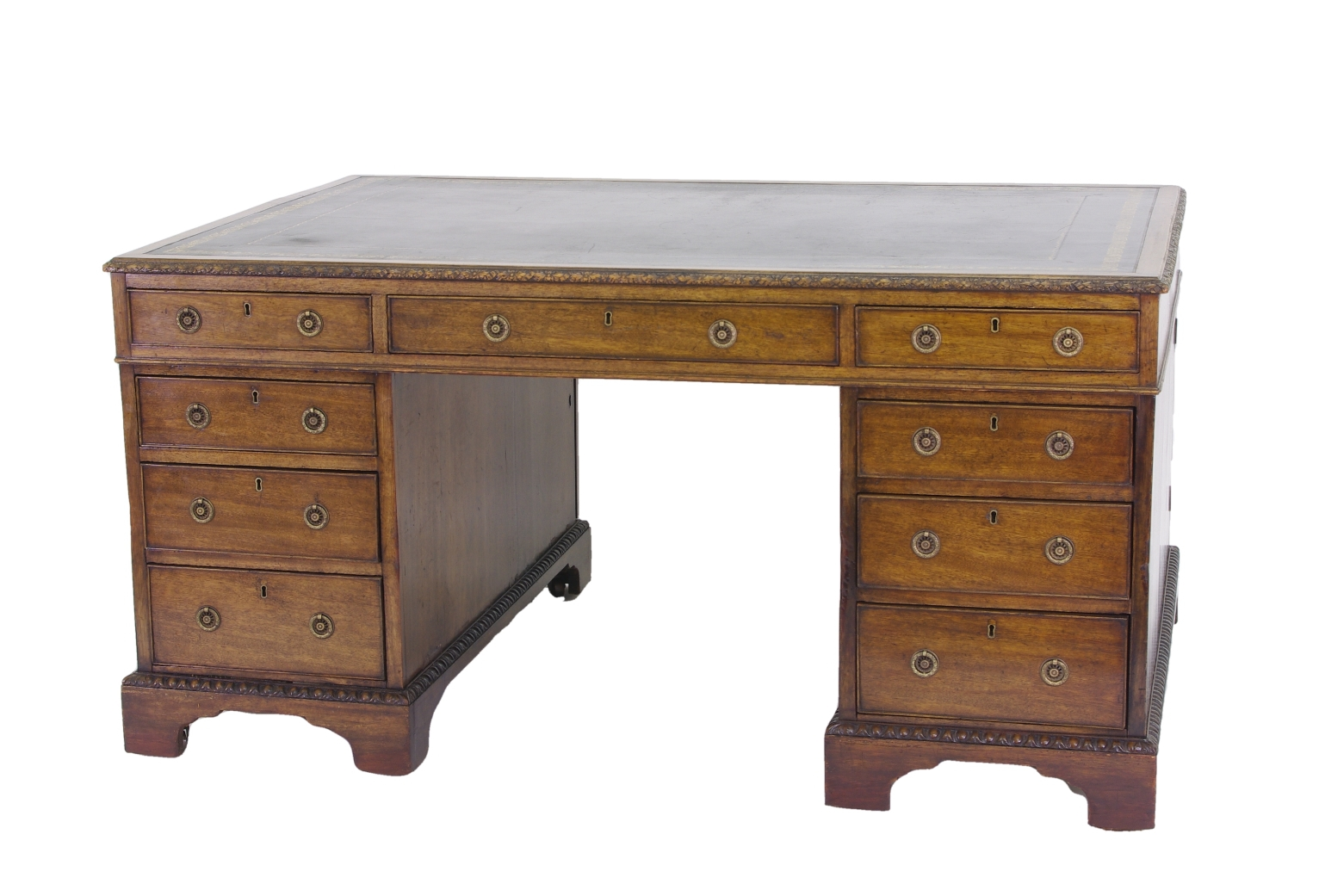 View 1: Victorian Mahogany Partners Desk, c. 1840-60