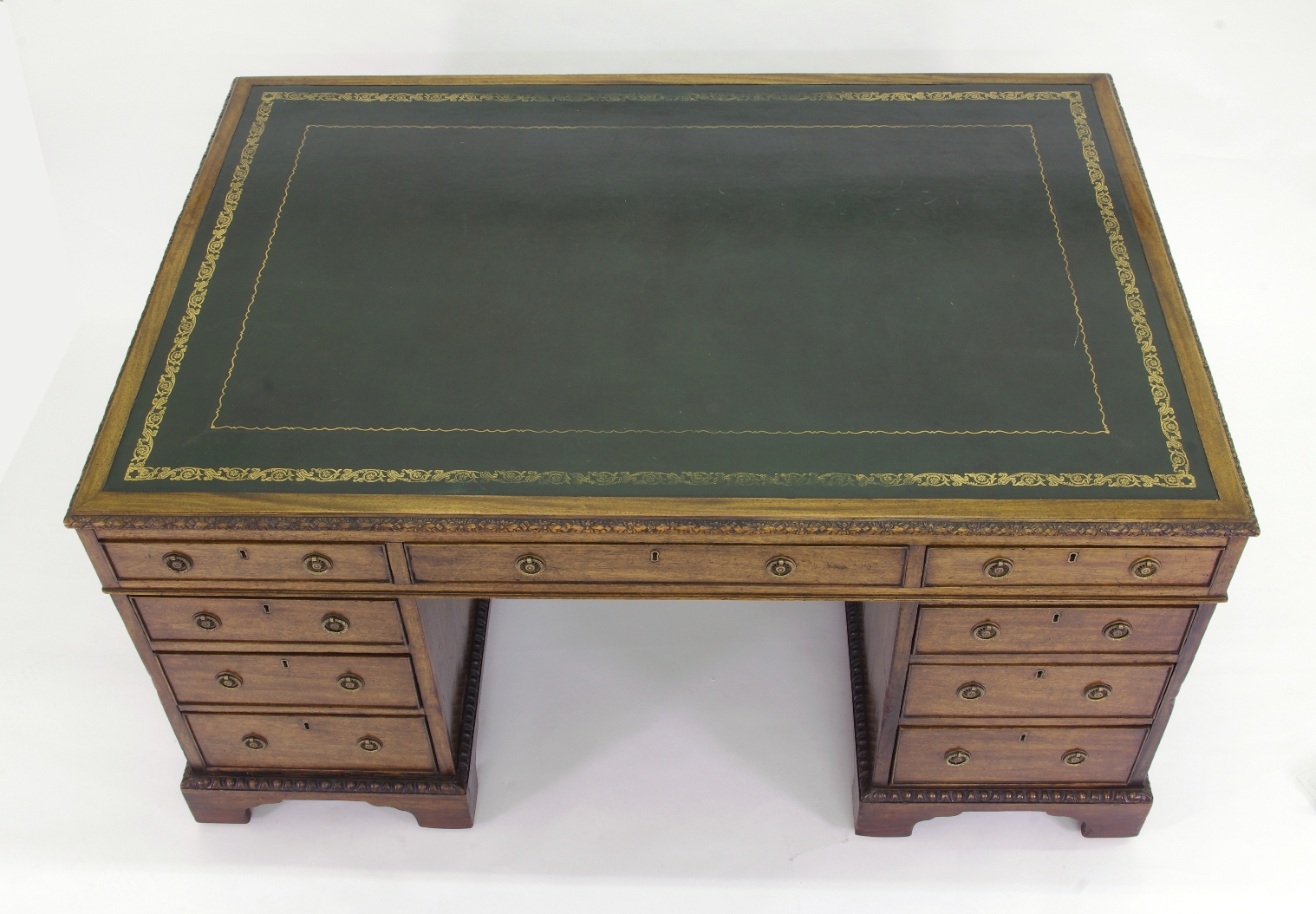 View 3: Victorian Mahogany Partners Desk, c. 1840-60