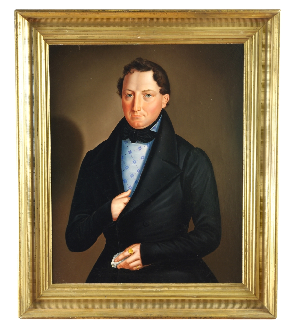 View 2: Biedermeier Portrait of a Gentleman, c. 1820