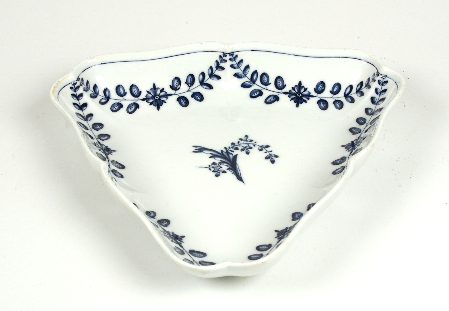 View 2: Large Marcolini Meissen Triangular Dish