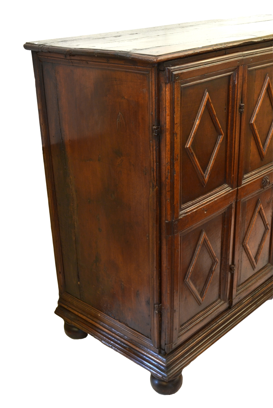 View 4: Italian Walnut Credenza, 18th c.
