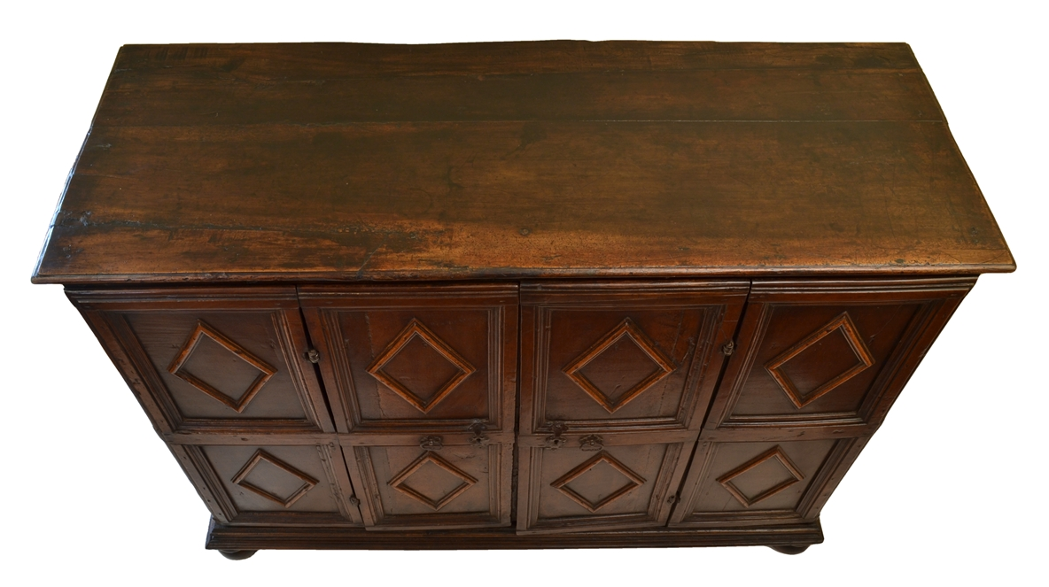 View 10: Italian Walnut Credenza, 18th c.