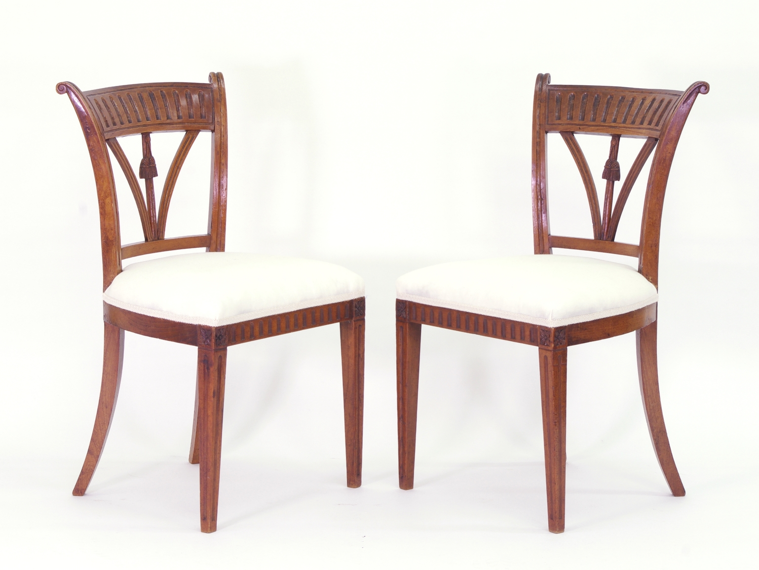 View 2: Set of Four Italian Side Chairs, c. 1800