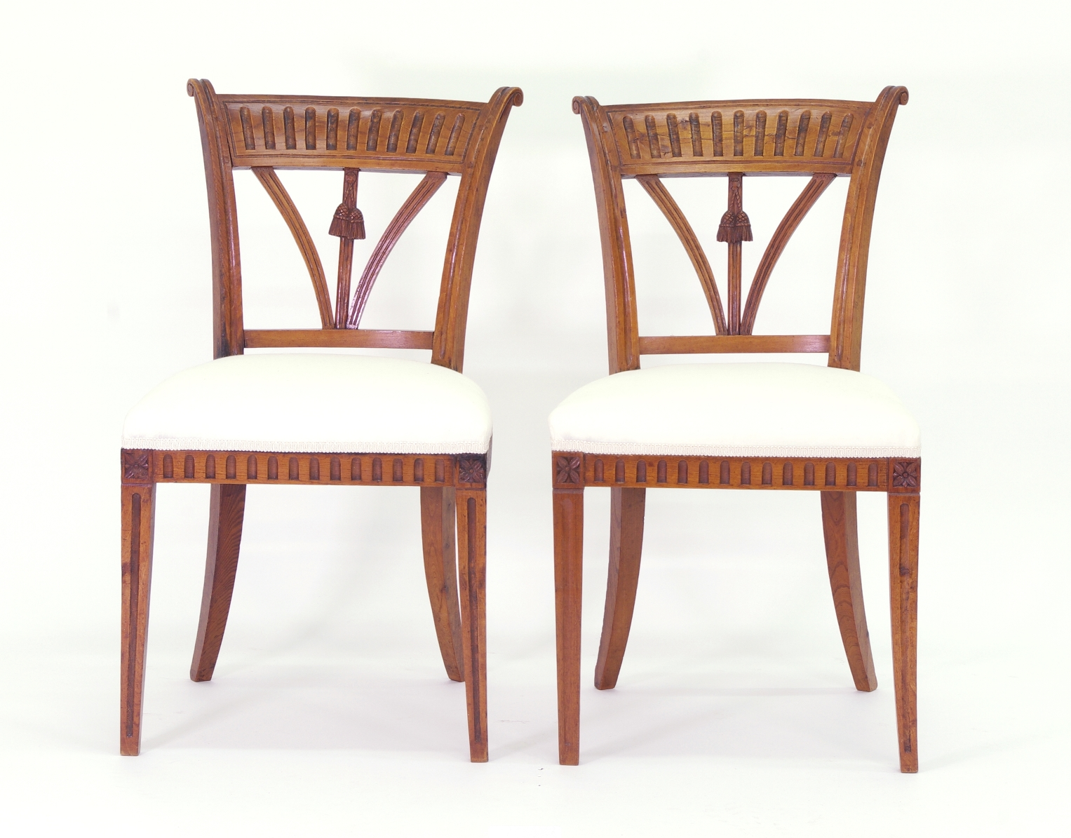 View 3: Set of Four Italian Side Chairs, c. 1800