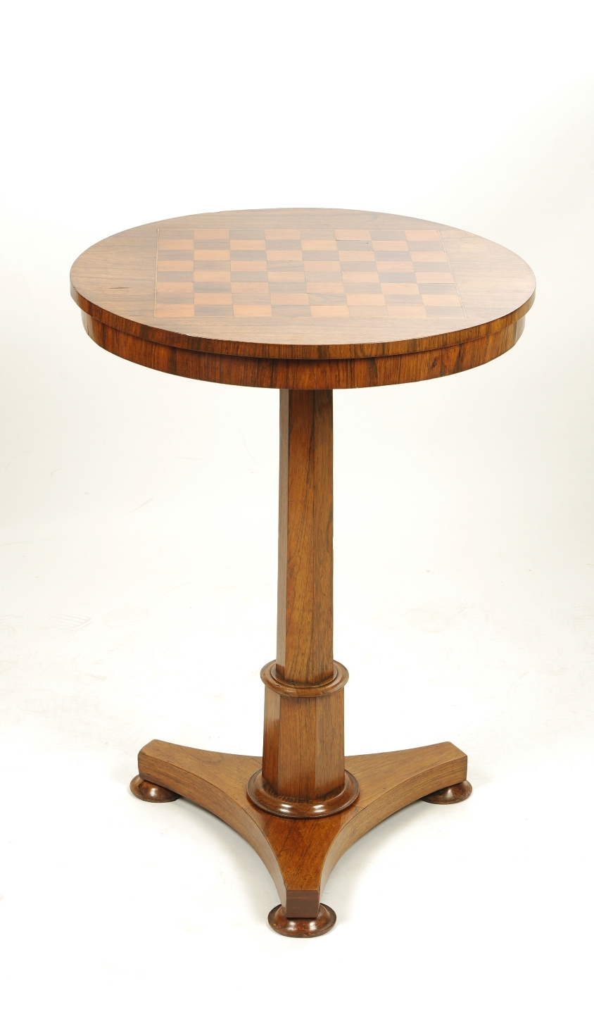 Regency Rosewood Small Games Table