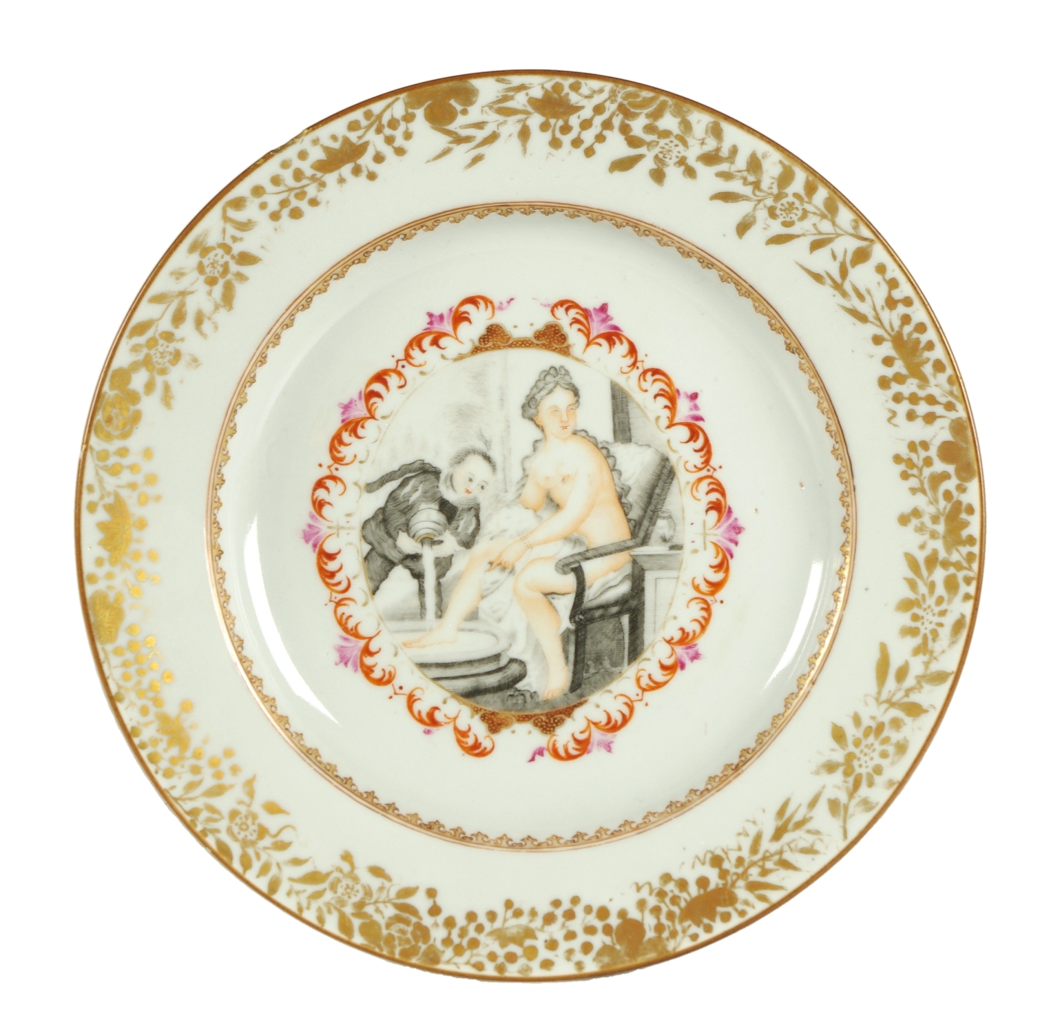 View 1: Chinese Export Plate Made for the Continental Market