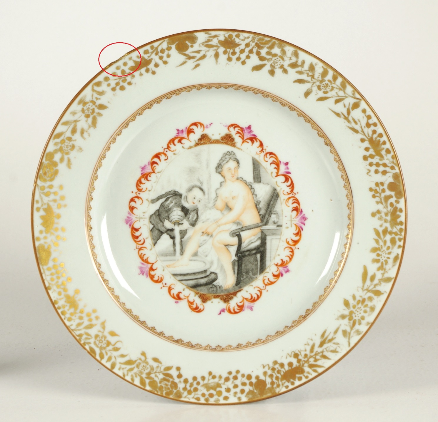 View 4: Chinese Export Plate Made for the Continental Market