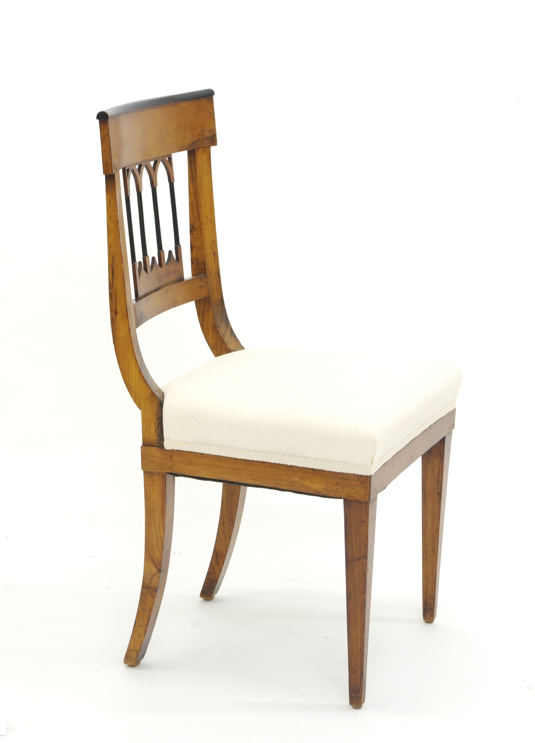 View 5: Set of Four Biedermeier Side Chairs, c. 1810-20