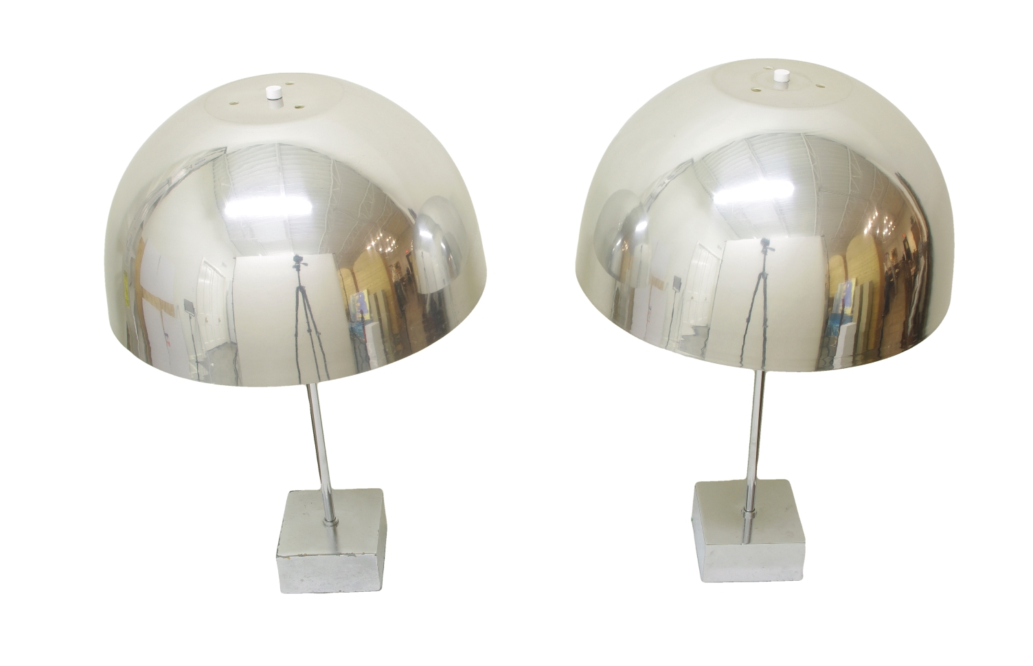 Pair of Mushroom Lamps by Paul Mayen, 1960's