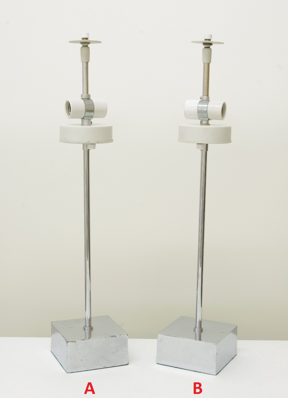 View 3: Pair of Mushroom Lamps by Paul Mayen, 1960's