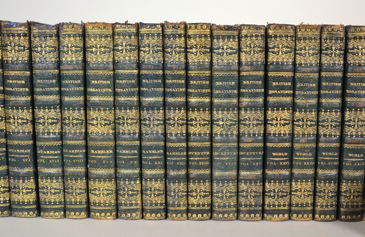 View 5: The British Essayists, Complete Set in 45 Volumes, 1819