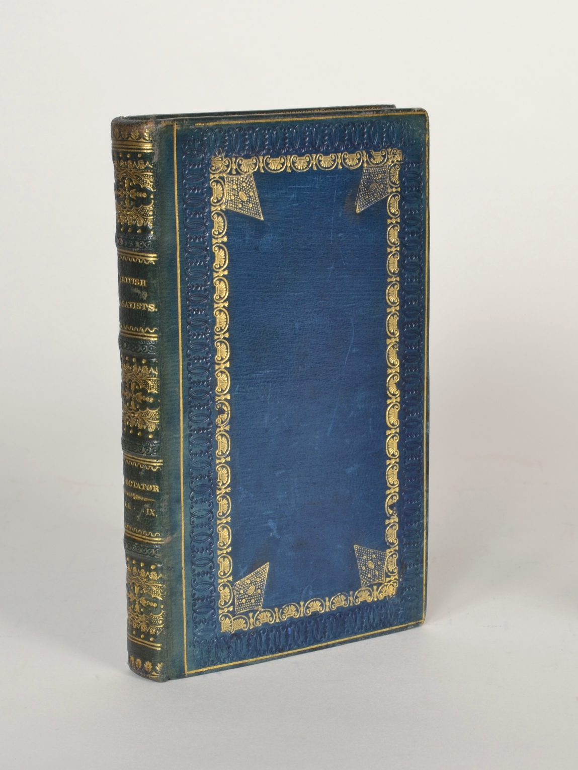 View 6: The British Essayists, Complete Set in 45 Volumes, 1819