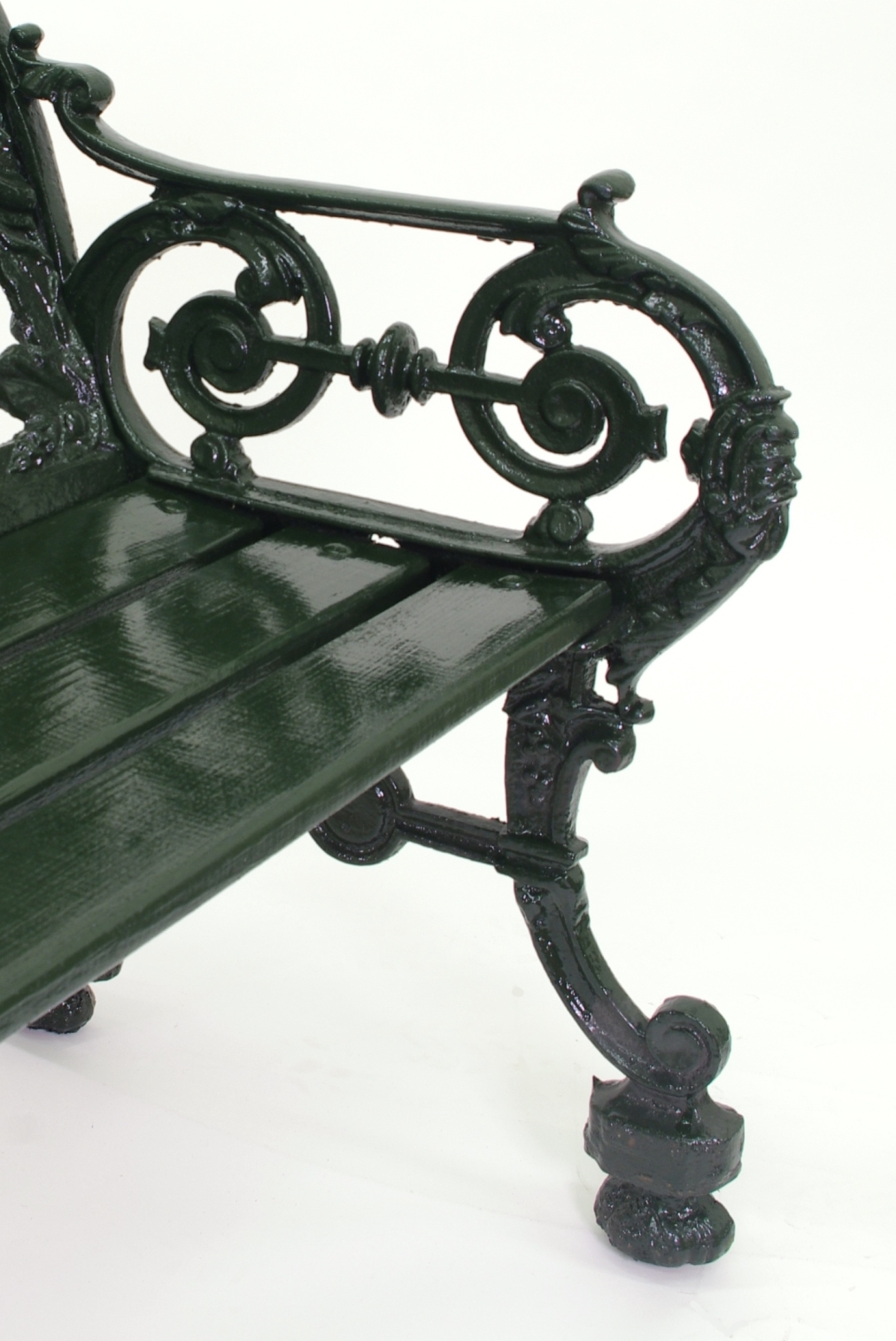 View 3: Cast Iron Garden Bench, 1880