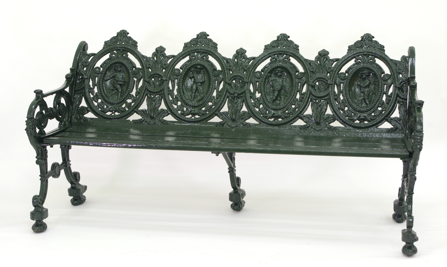 View 8: Cast Iron Garden Bench, 1880