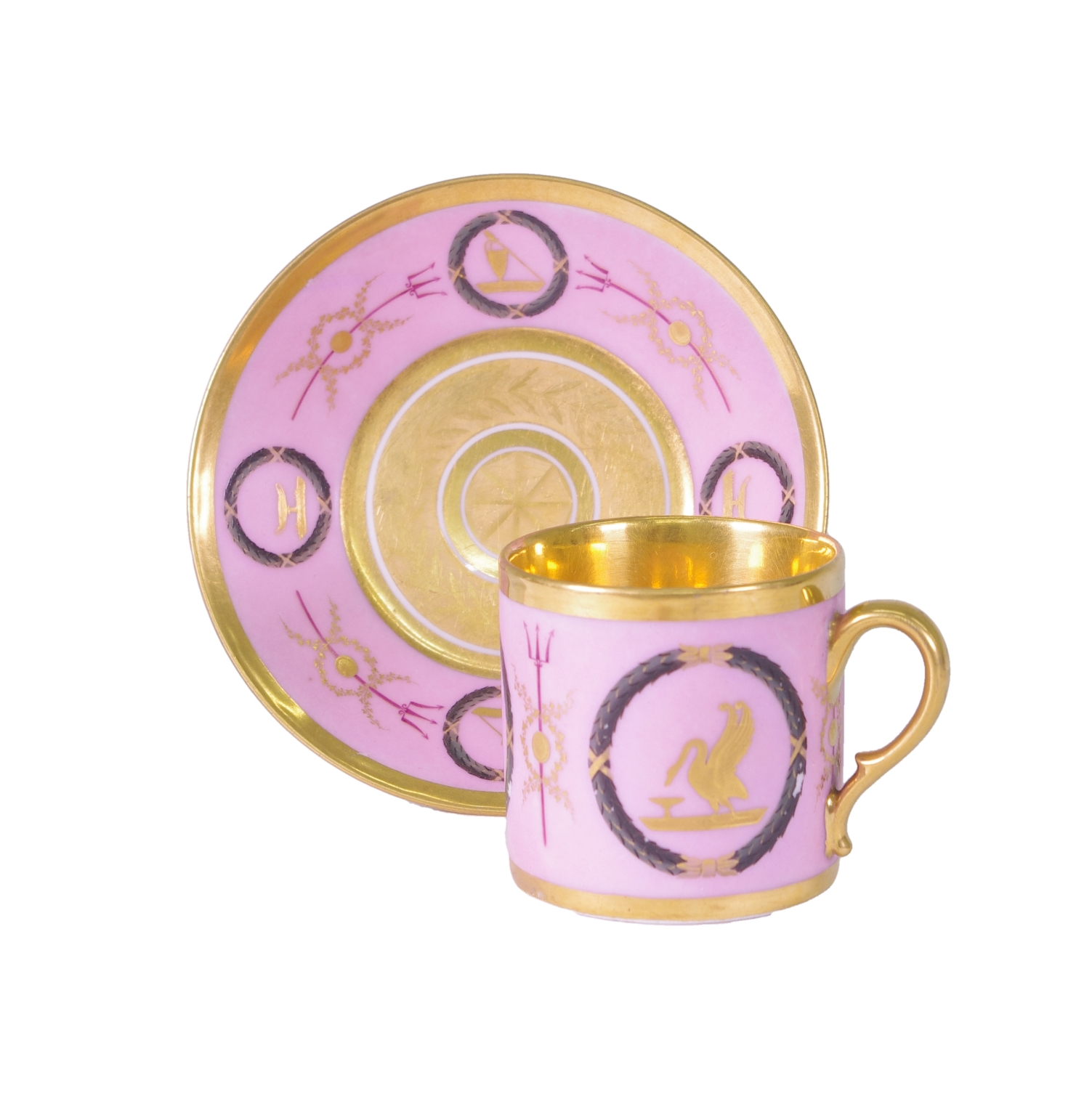 View 1: Old Paris Coffee Can and Saucer, c. 1810