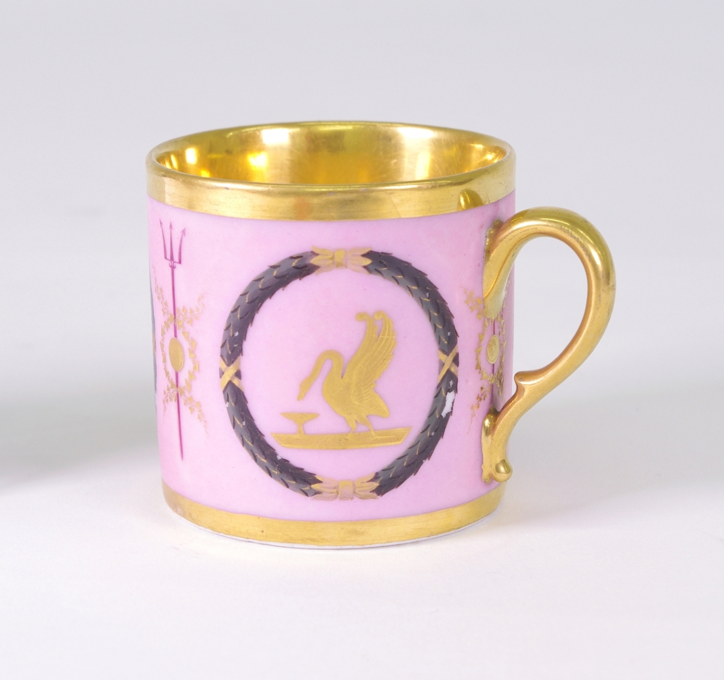 View 2: Old Paris Coffee Can and Saucer, c. 1810