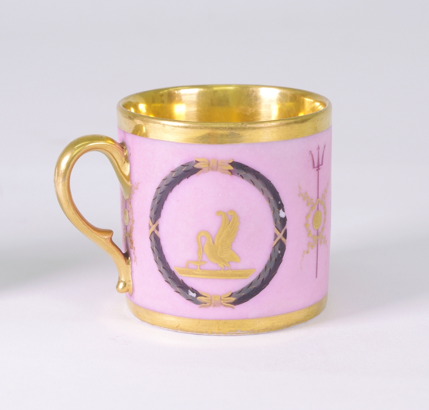 View 3: Old Paris Coffee Can and Saucer, c. 1810