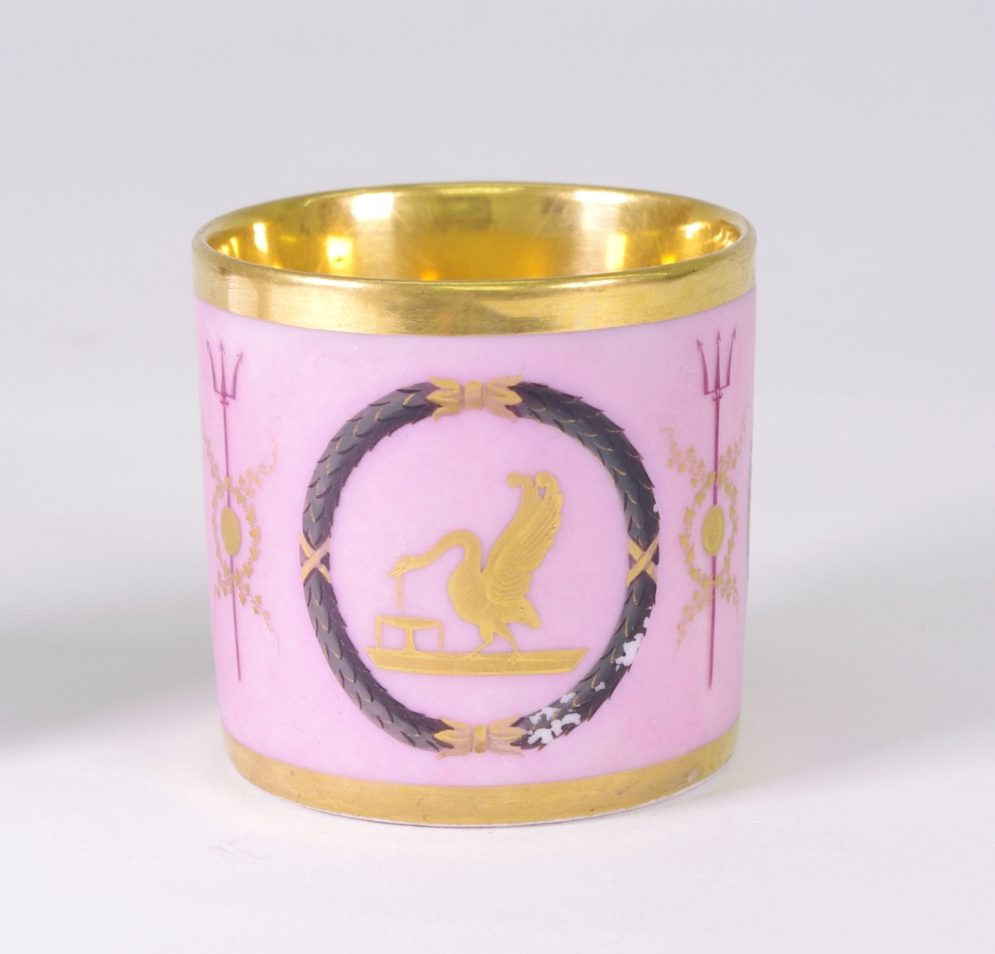 View 4: Old Paris Coffee Can and Saucer, c. 1810