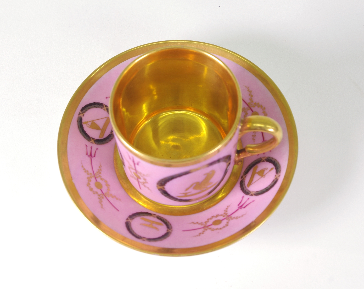View 5: Old Paris Coffee Can and Saucer, c. 1810